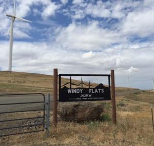 a windy flats